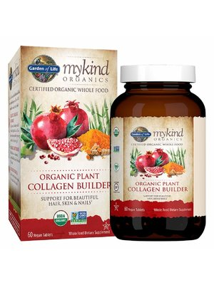 Garden of Life GoL myKind Organics Organic Plant Collagen Builder, 60t