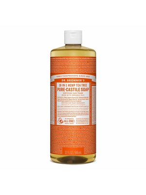 Dr. Bronner's Dr. Bronner's Pure Castile Liquid Soap, Tea Tree, 32oz.