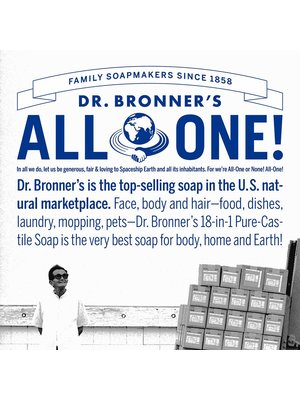 Dr. Bronner's Dr, Bronner's Pure Castile Liquid Soap, Tea Tree, 32oz.