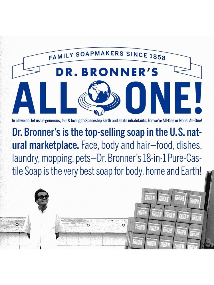 Dr. Bronner's Dr, Bronner's Pure Castile Liquid Soap, Peppermint, 32oz.