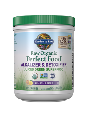 Garden of Life GoL Raw Organic Perfect Food, Alkalizer & Detoxifier, 10.1oz.