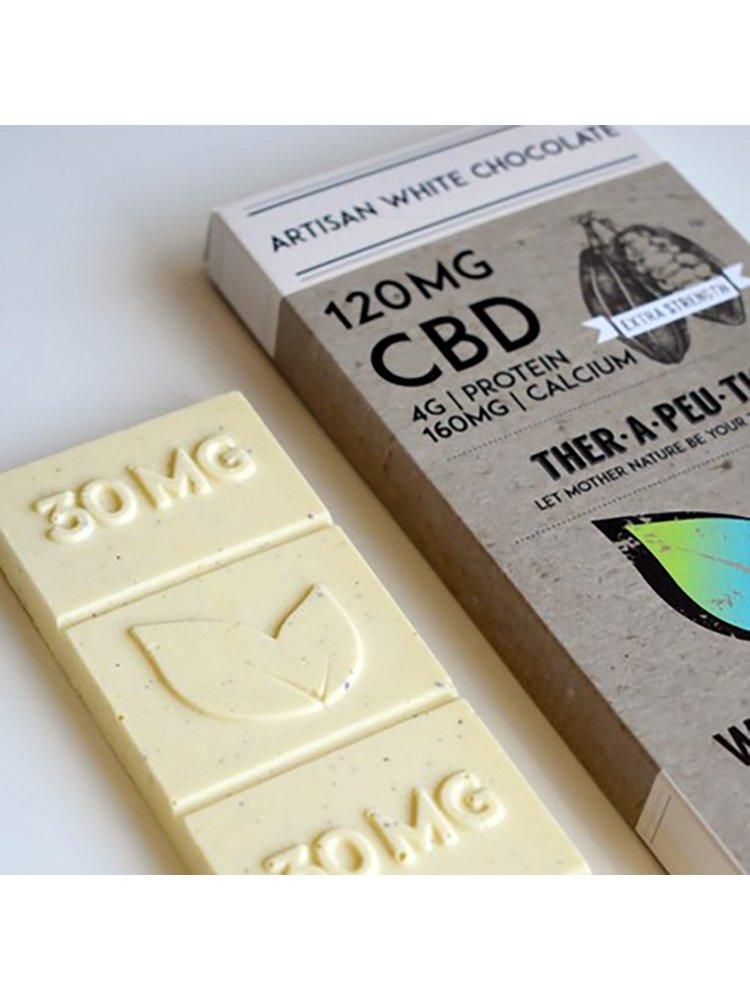 THERAPEUTIC TREATS Therapeutic Treats White Chocolate, 120mg, 2.05oz.