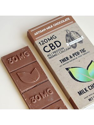 THERAPEUTIC TREATS Therapeutic Treats Milk Chocolate, 120mg, 2.05oz.