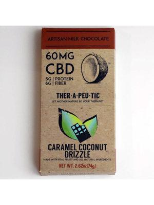 THERAPEUTIC TREATS Therapeutic Treats Caramel Coconut Milk Chocolate, 60mg, 2oz.