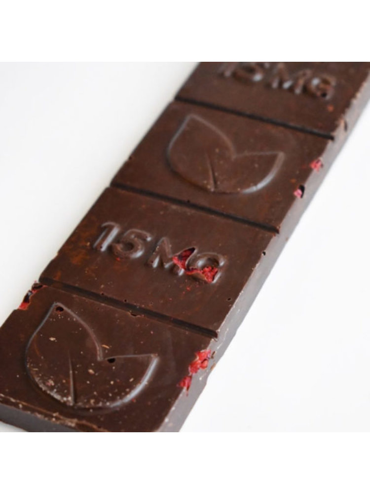 THERAPEUTIC TREATS Therapeutic Treats Rasp & Cinn Dark Chocolate, 60mg, 2.11oz.