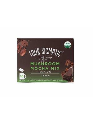 FOUR SIGMATIC Four Sigmatic Mushroom Coffee, Chaga, Mocha, 10ct