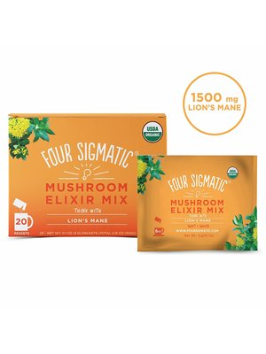 FOUR SIGMATIC Four Sig Mush Elixir, Lion's Mane, THINK, Org, 20ct.