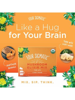 FOUR SIGMATIC Four Sigmatic Lions Mane Mushroom Elixir, Org, 20ct