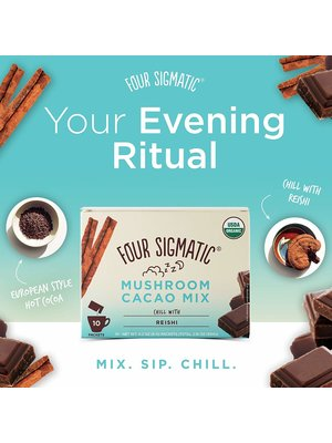 FOUR SIGMATIC Four Sigmatic Hot Cacao Mix, Reishi, CHILL, Org, 10ct
