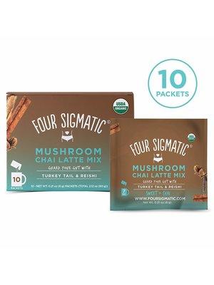 FOUR SIGMATIC Four Sigmatic Mushroom Chai Latte w/Turkey Tail&Reishi, 10ct