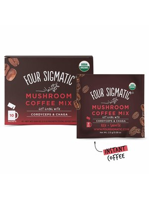 FOUR SIGMATIC Four Sigmatic Mushroom Coffee, Chaga, DEFEND, Org, 10ct