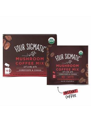FOUR SIGMATIC Four Sigmatic Mushroom Coffee Mix, Chaga, DEFEND, Org, 10ct