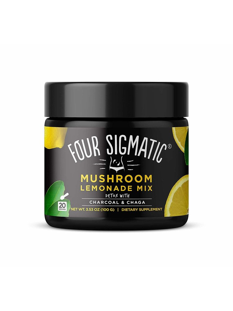 FOUR SIGMATIC Four Sigmatic Mushroom Charcoal Lemonade with Chaga