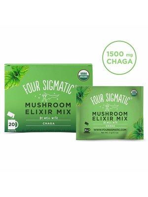 FOUR SIGMATIC Four Sigmatic Chaga Mushroom Elixir, Org, 20ct