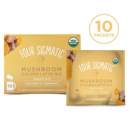 FOUR SIGMATIC Four Sig Golden Latte, Turkey Tail, DEFEND, Org, 10ct.