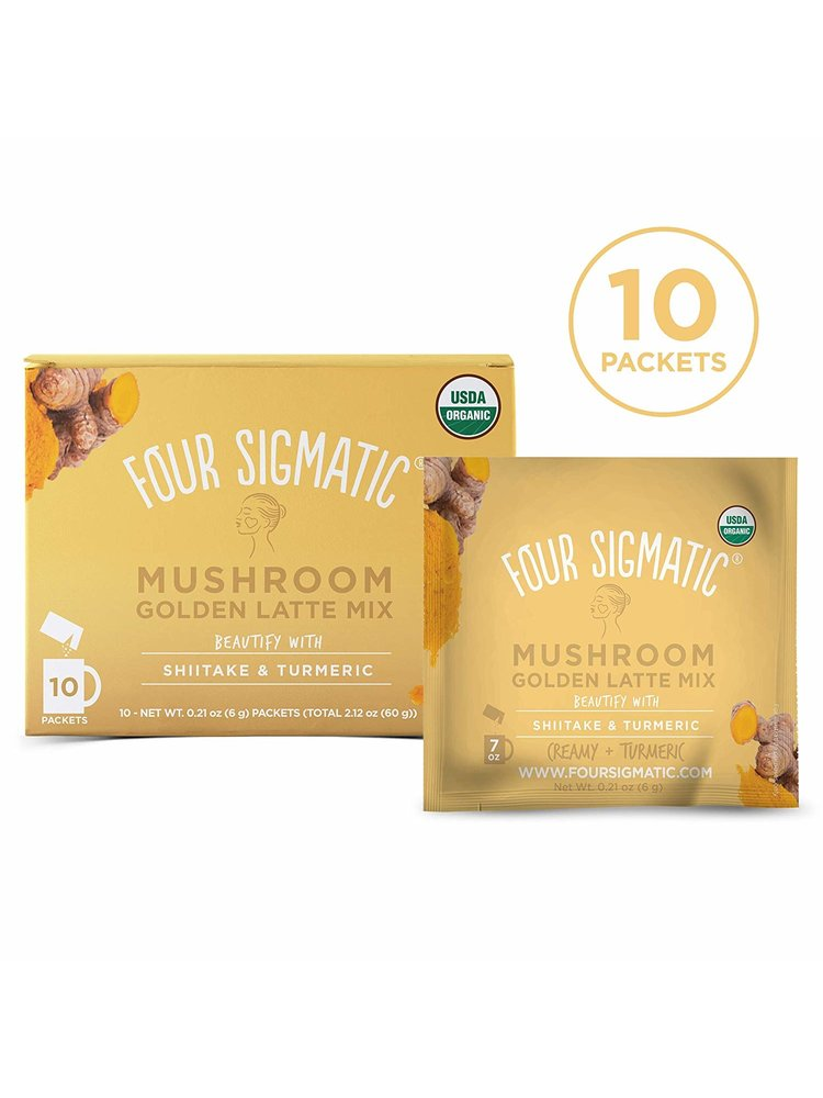 FOUR SIGMATIC Four Sigmatic Shiitake Golden Latte, Org, 10ct
