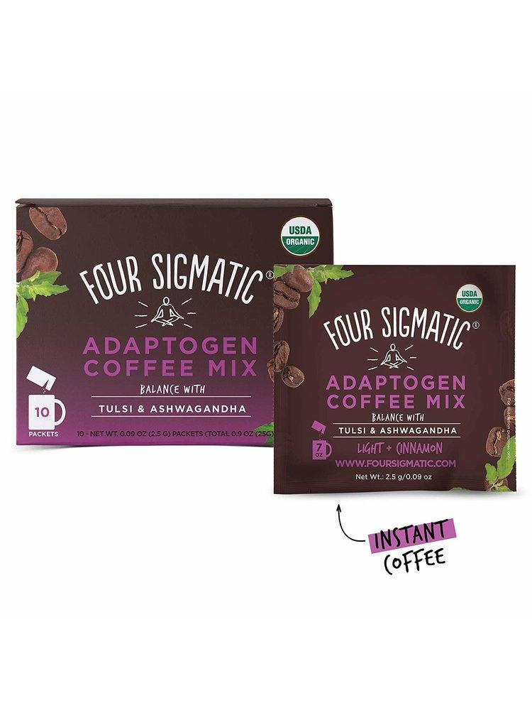 FOUR SIGMATIC Four Sig Mush Coffee,  Ashwagandha, BALANCE, Org, 10ct