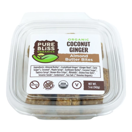 Pure Bliss Pure Bliss Organics Coconut Ginger Bites, 5oz. - ?