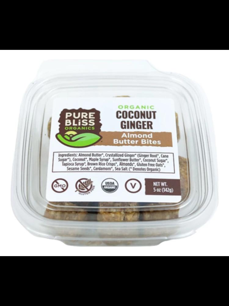 Pure Bliss Pure Bliss Organics Coconut Ginger Bites, 5oz.