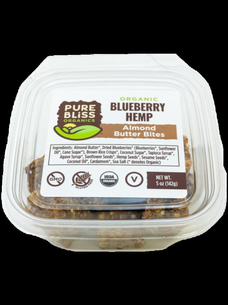 Pure Bliss Pure Bliss Organics Blueberry Hemp Bites, 5oz.