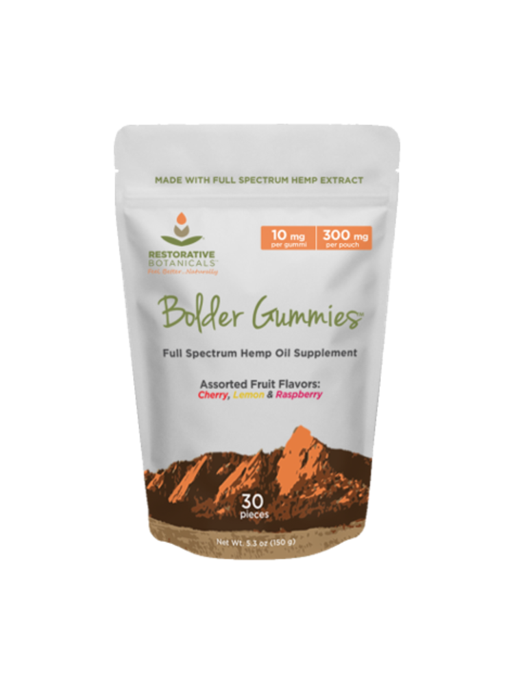 RESTORATIVE BOTANICALS Restorative Botanicals Bolder Gummies 30ct