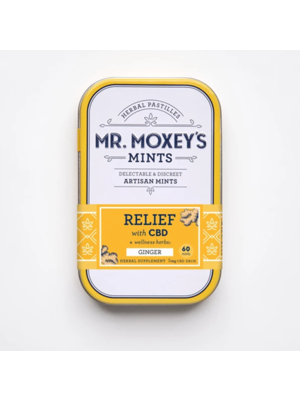 MR. MOXEY'S Mr. Moxie's Mints Relief, Ginger, 60ct