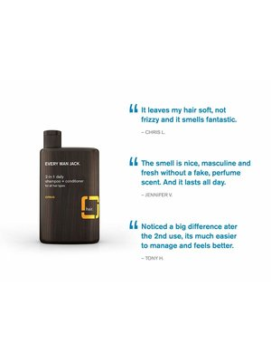 Every Man Jack Every Man Jack 2-in-1 Daily Shampoo & Conditioner, 13.5oz.