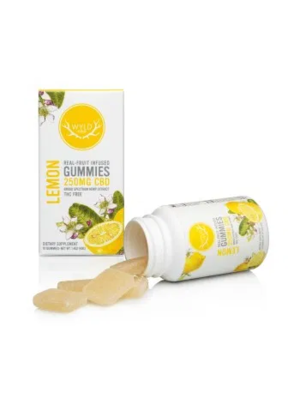 WYLD Wyld CBD Gummies 250mg, Lemon, 10ct
