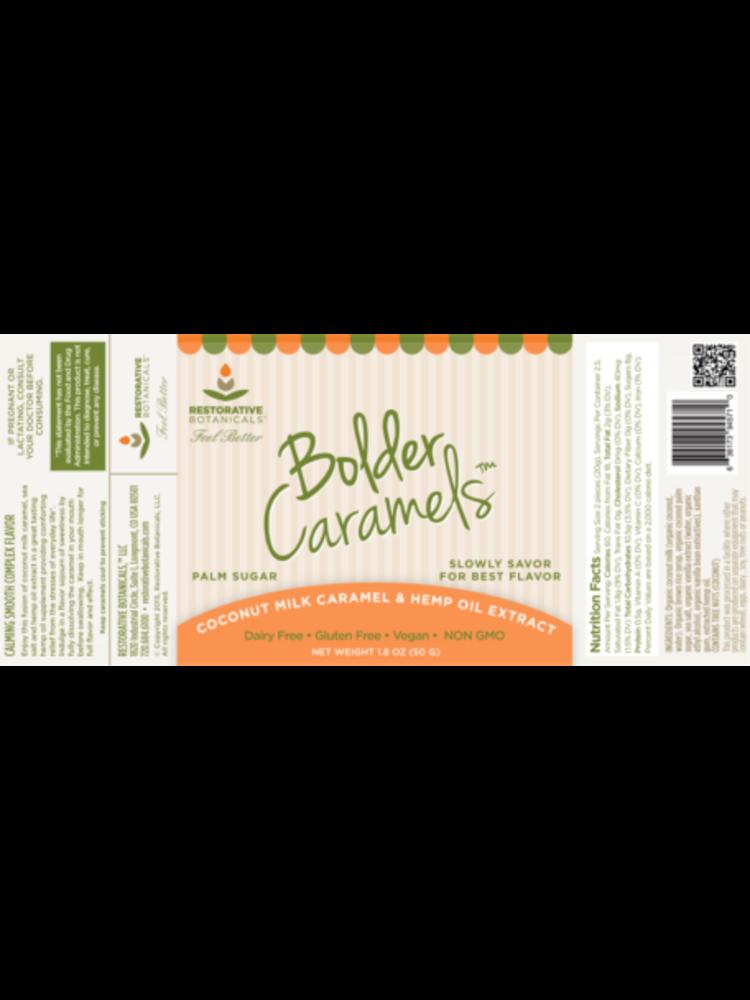 RESTORATIVE BOTANICALS Restorative Botanicals Bolder Caramels, 5ct