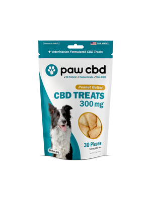 CBDMD cbdMD Dog Treats 300mg, Peanut Butter, 4.4oz.