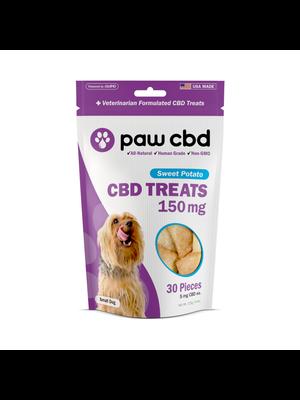 CBDMD cbdMD Dog Treats 150mg, Sweet Potato, 4.4oz.