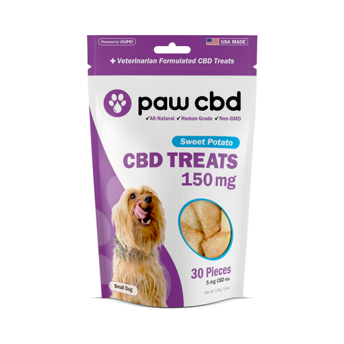 CBDMD cbdMD Dog Treats 150mg, Sweet Potato, 4.4oz.