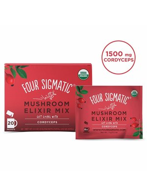 FOUR SIGMATIC Four Sig Mush Elixir, Cordyceps, PERFORM, Org, 20ct