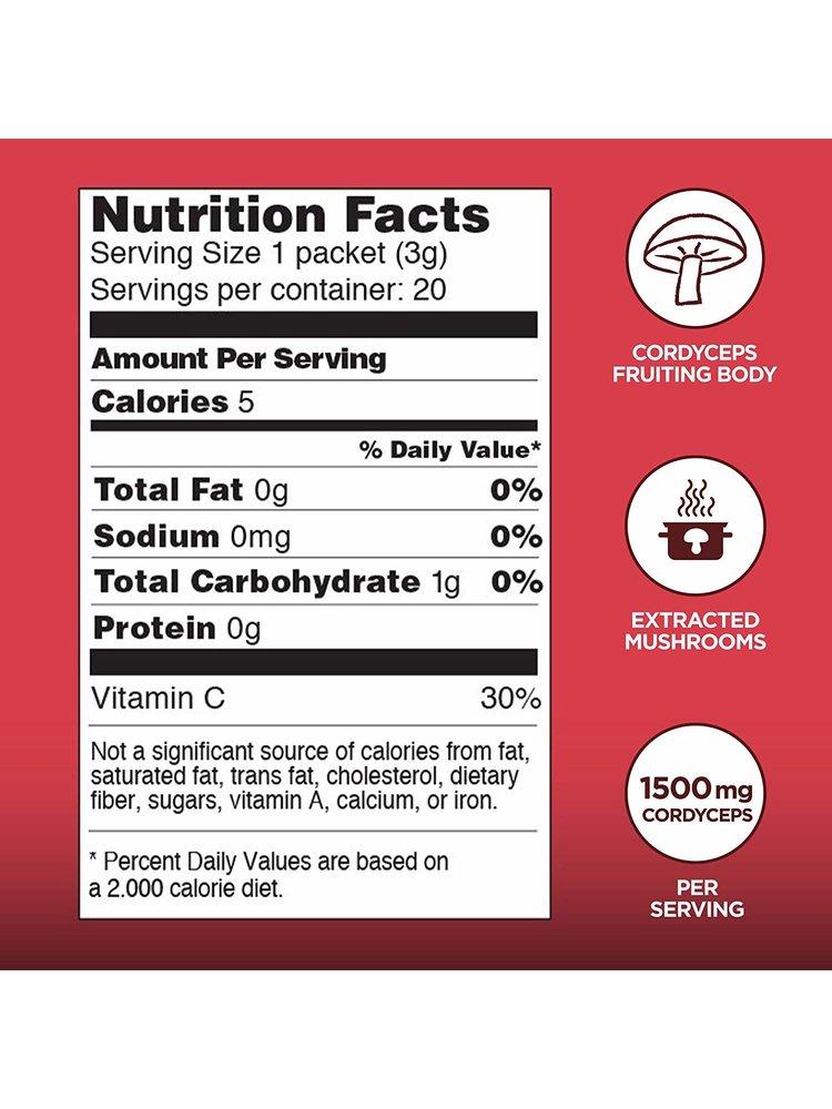 FOUR SIGMATIC Four Sigmatic Cordyceps Mushroom Elixir, Organic, 20ct