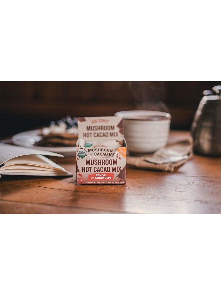 FOUR SIGMATIC Four Sig Mush Cacao Mix, Cordyceps, PERFORM, 10ct.