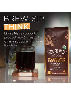 FOUR SIGMATIC Four Sigmatic Mushroom Coffee, Lion's Mane, Ground
