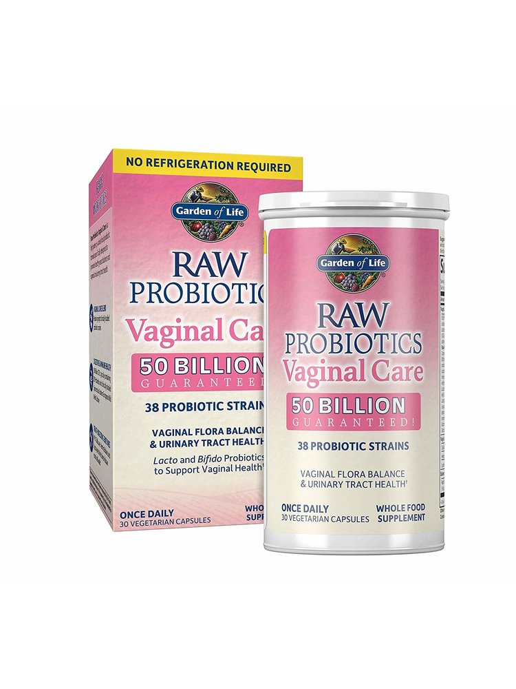Garden of Life GoL RAW Probiotics Vaginal Care, SS, 30ct