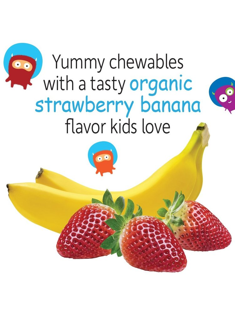 Garden of Life GoL Dr. Formulated Probiotics Organic Kids, Straw/Ban, SS, 30ch