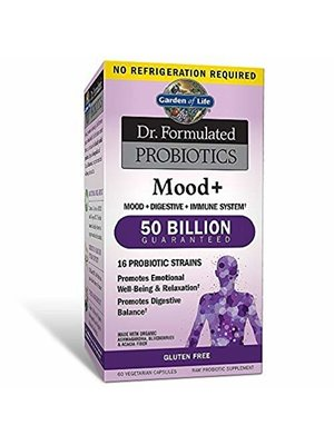Garden of Life GoL Dr. Formulated Probiotics Mood+, SS, 60cp
