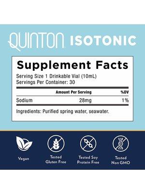 Quinton Quinton Isotonic, 30 vials