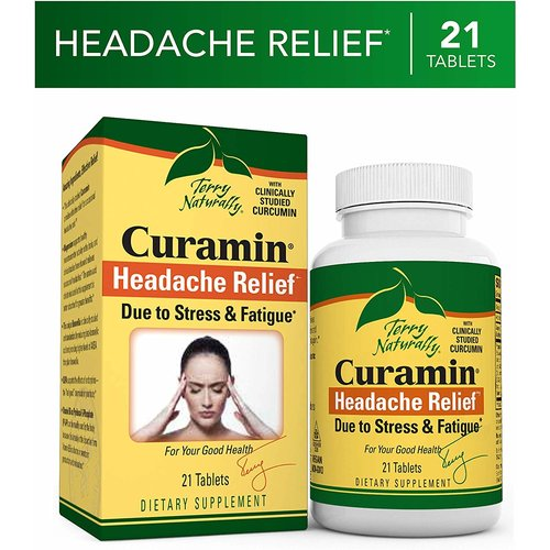 TERRY NATURALLY Terry Naturally Curamin Headache Relief, 21t