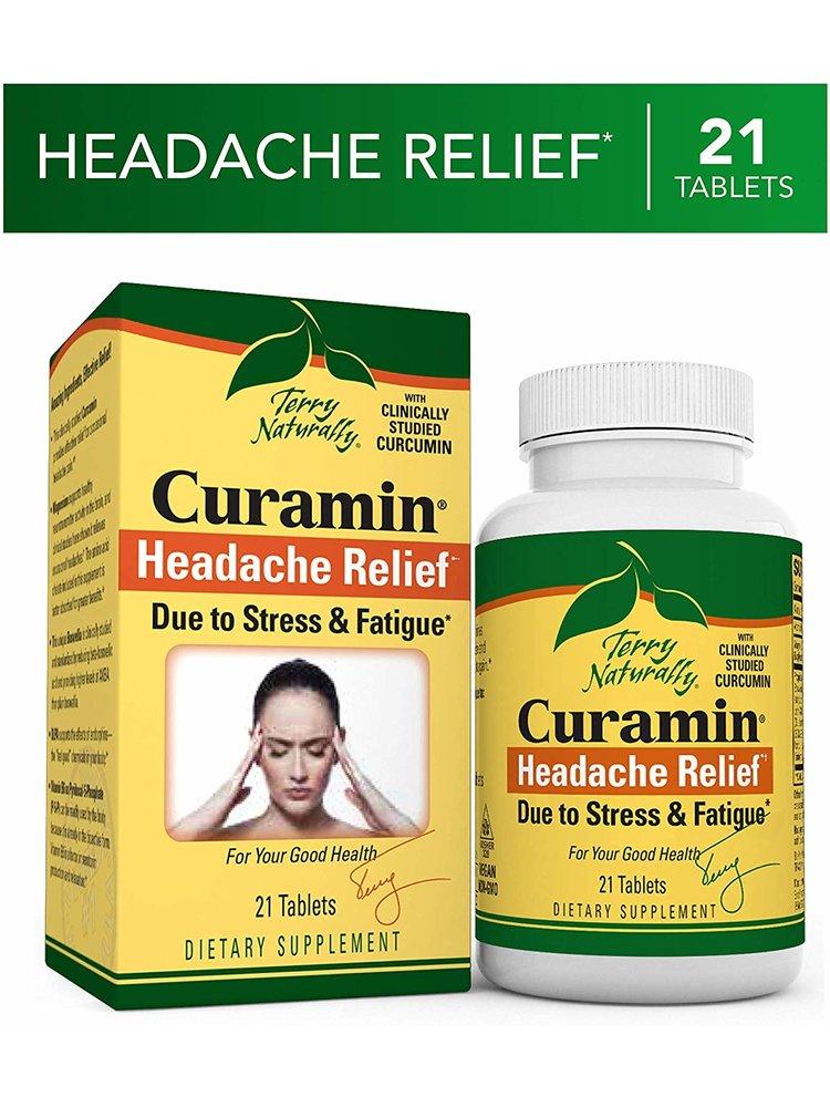 TERRY NATURALLY Terry Naturally Curamin Headache Relief, 21t