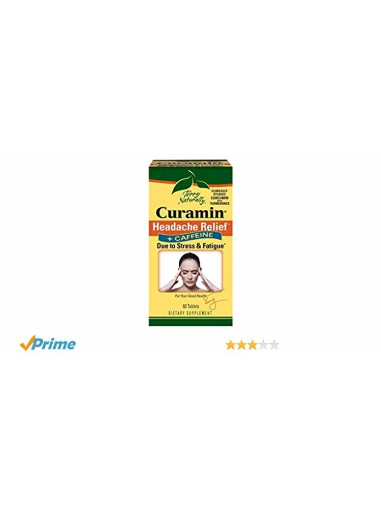 TERRY NATURALLY Terry Naturally Curamin Headache + Caffeine, 60t