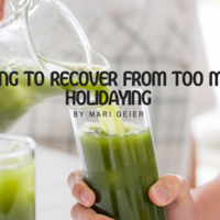 Juicing to Recover from Too Much Holidaying