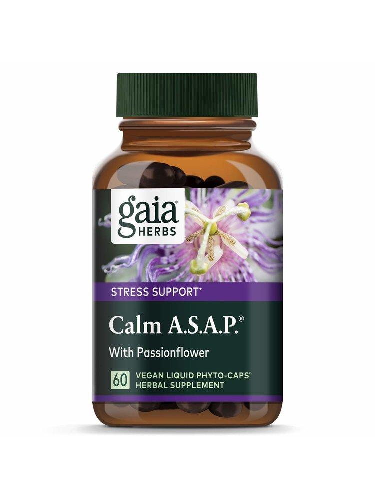 GAIA HERBS Gaia Calm ASAP, 60ct