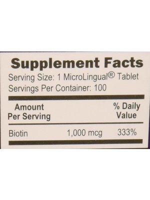 Superior Source Superior Source Biotin 1000mcg, 100ct