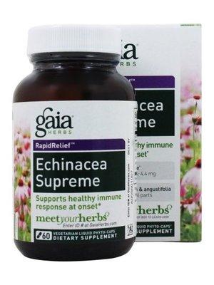 Gaia Echinacea Supreme, 60 Vegetarian Capsules