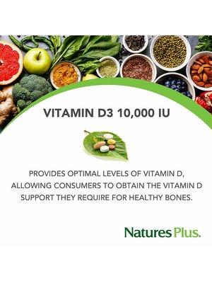 Nature's Plus Vitamin D3 10,000IU, 60sg