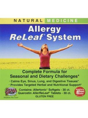Herbs Etc. Herbs Etc Allergy ReLeaf System, 2 Bottles, 60+60sg