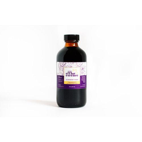 Sweet Efflorescence LLC Sweet Efflorescence Elderberry Syrup, 8oz.